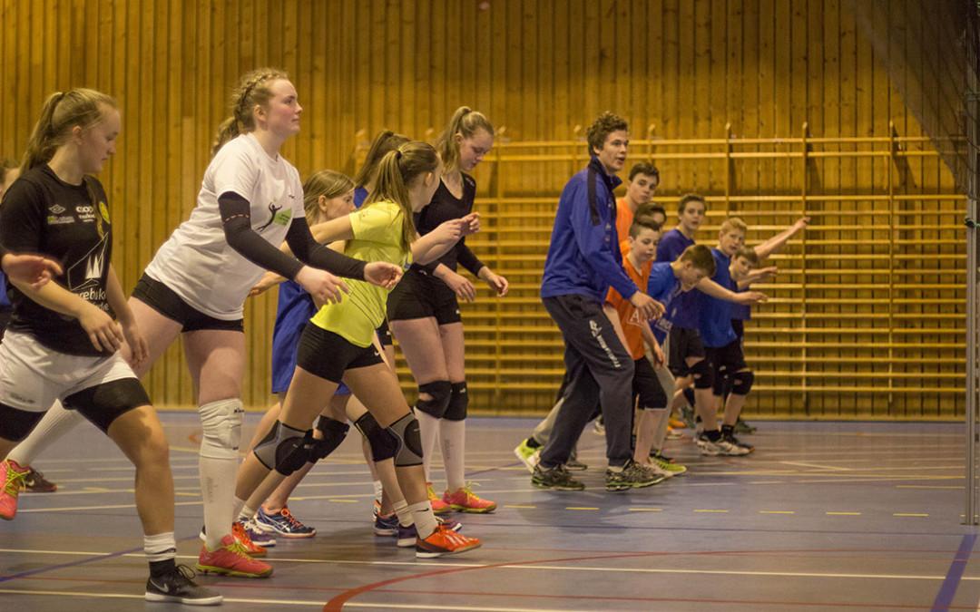 Bli med på volleyballskule!